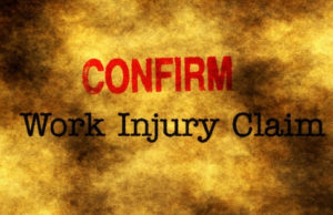 Confirm Work Injury Claim